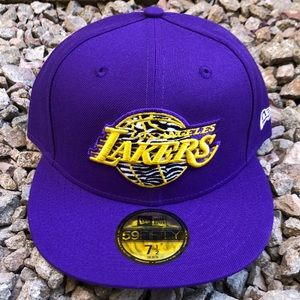 Los Angeles Lakers New Era Fitted Hat